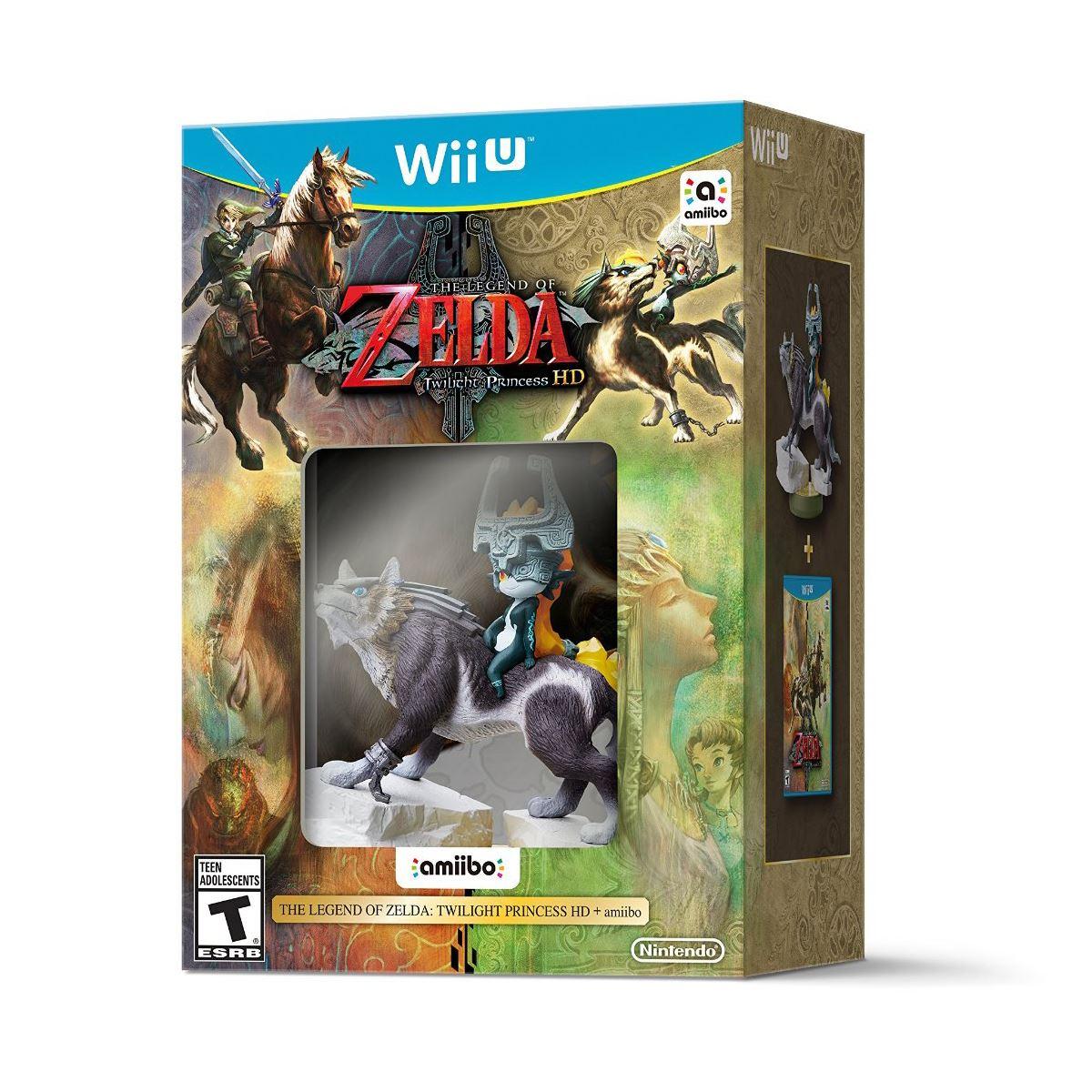 Wii U Legend Of Zelda Twilight Princess HD