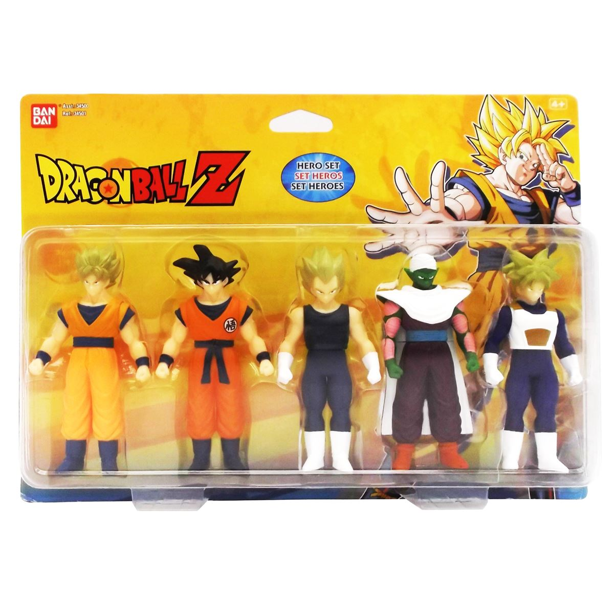 dragon ball z 5 figuras en 1 pack