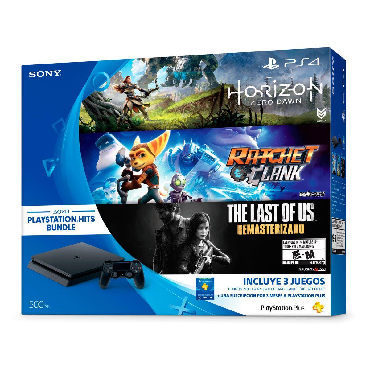 Consola Ps4 Hit Bundle