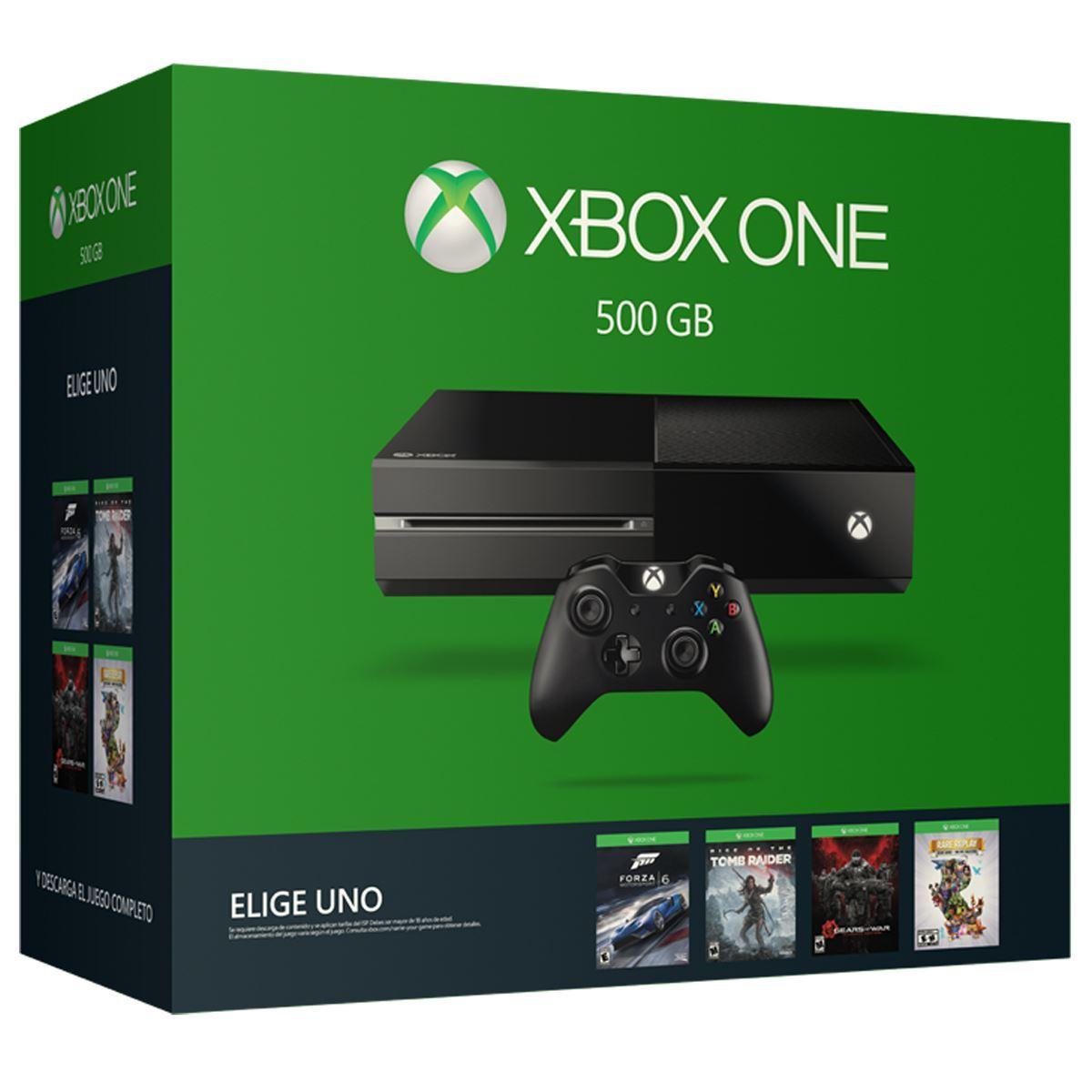 Consola Xbox One 500 GB Elige Tu Juego