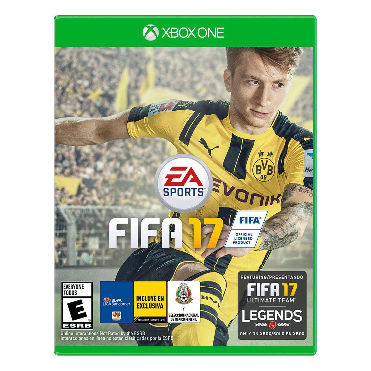 Consola Xbox ONE 500GB FIFA 17