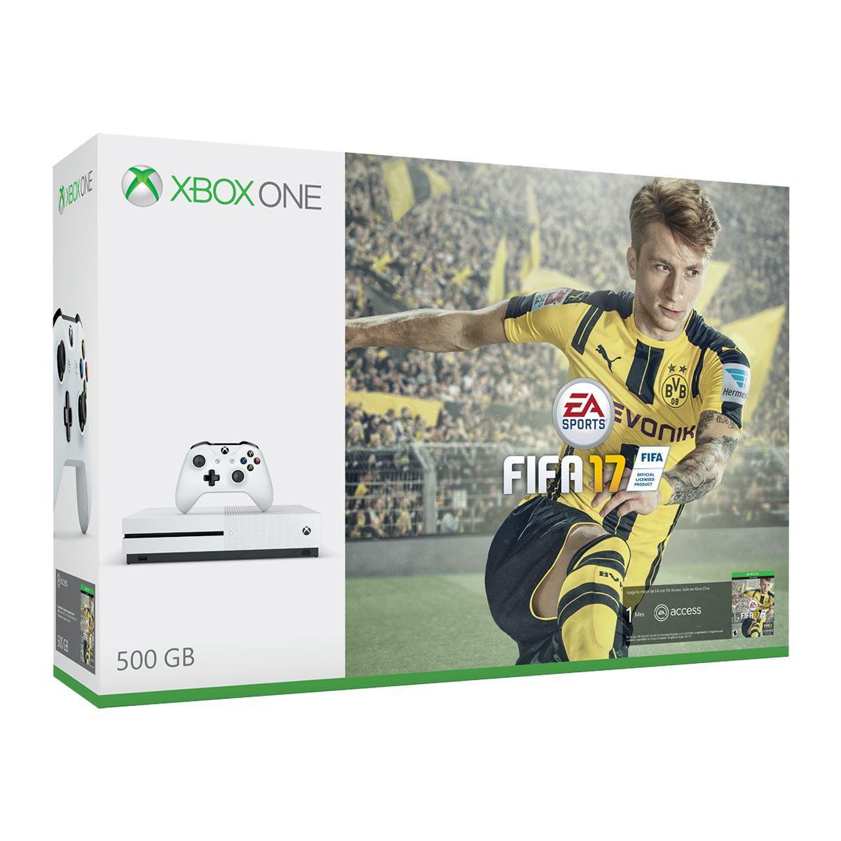 Consola Xbox One S 500GB FIFA 17