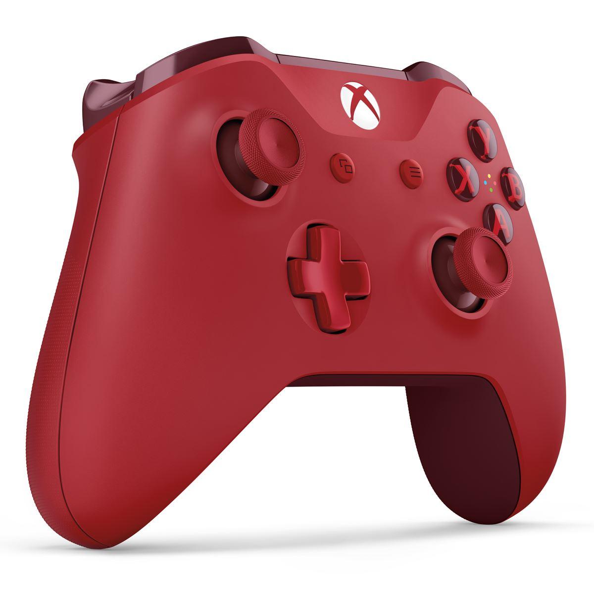 Control Xbox One Inalambrico Rojo